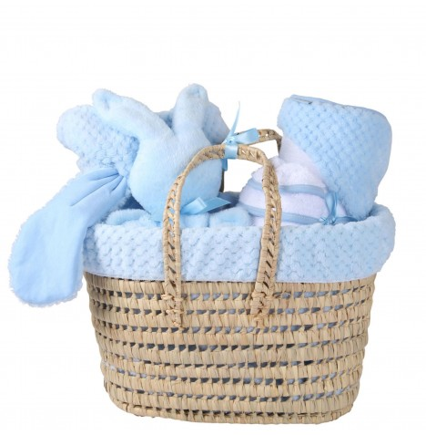 Clair De Lune Polly Honeycomb Gift Set - Blue